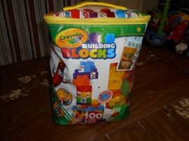 Crayola Building Blocks Set