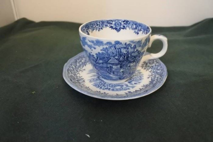 English Village by Salem China Collectible Tea Cup