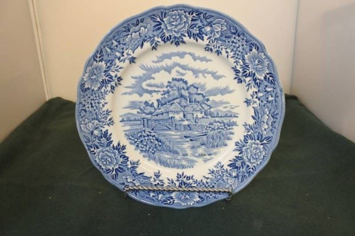 English Village by Salem China Collectible Plate