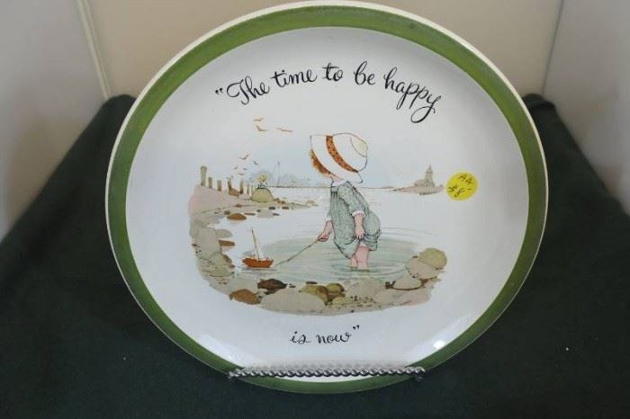 Holly Hobbie Collectible Plate
