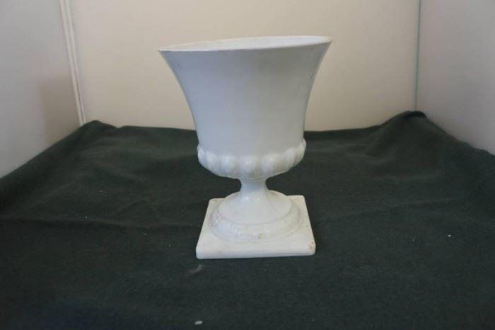 Milk Glass Pottery..