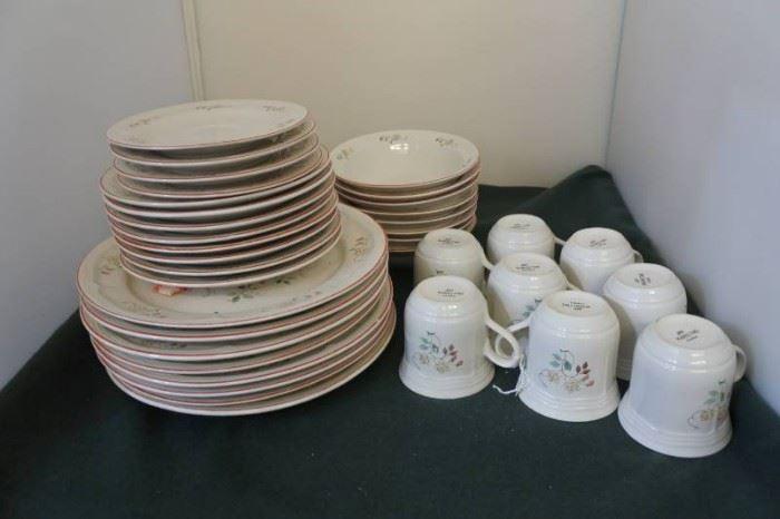 Set of Vintage Dishes