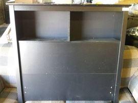 Black Bookcase Bed Headboard