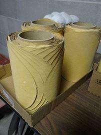 3 Rolls of sanding paper.