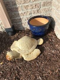 Concrete Sea Turtle $ 60.00
