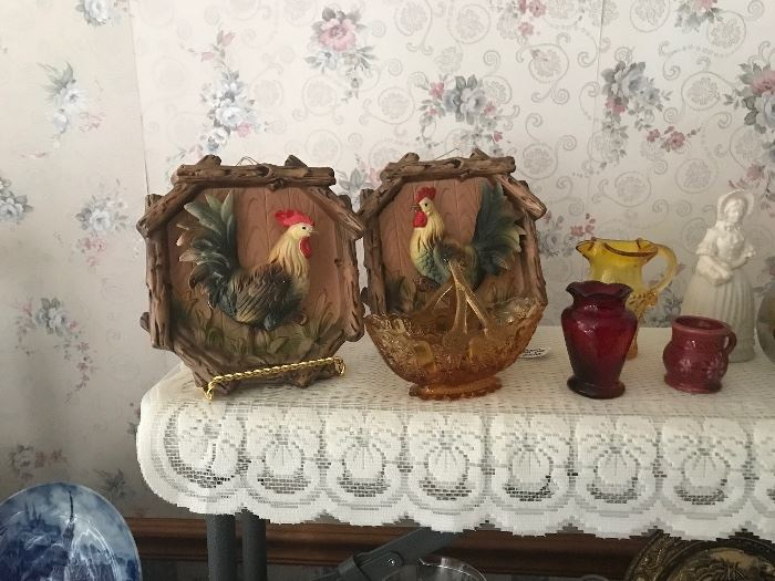 Rooster plaques