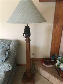 Horse Floor Lamp