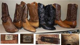 Cowboy Boots by Nocona, Larry Makan, Dan Post and Tony Lama