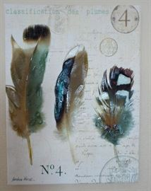 Nature inspired wall art and decor