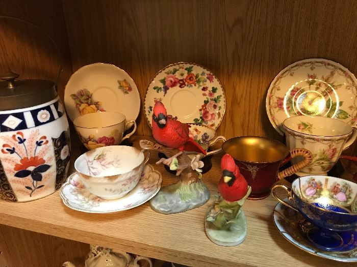 Huge teacup collection