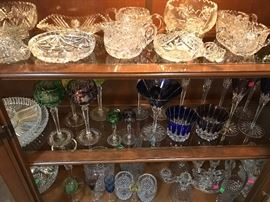 Cut glass... bohemian glass