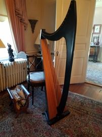 Troubadour harp - $650.00
