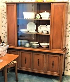 midcentury china cabinet