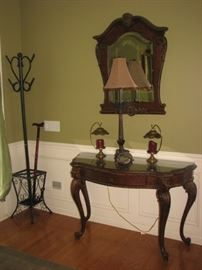 Century Furniture - Entry table & mirror