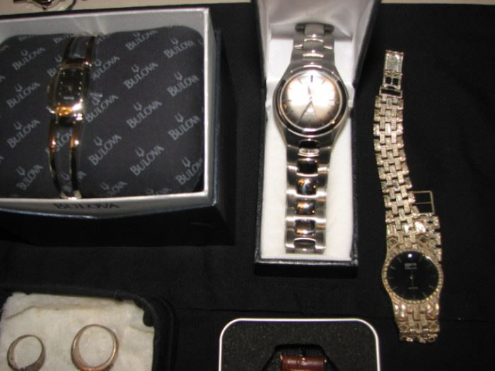 watches - Fossil, Bulova and more