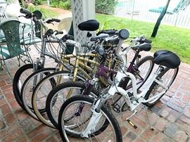 Bicycles!
