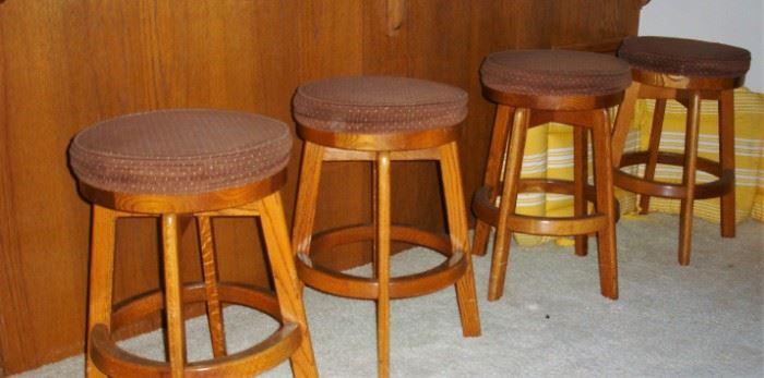 4 Dining stools