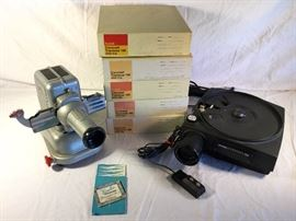 Vintage Slide Projectors by Viewlex V-33, Kodak 850 & Kodak Carousels https://ctbids.com/#!/description/share/86958