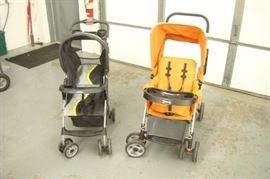 2 Used (Nice) Strollers