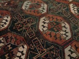 Vintage Afghan Beluch runner / rug