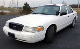 2006 Ford Crown Victoria Passenger Car, Odometer Reads 115,480, VIN # 2FAFP71WX6X152191