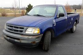 1998 Ford F-150 Pickup Truck, Triton V8, Odometer Reads 123,202 Miles, VIN # 1FTZF1766WKA85221