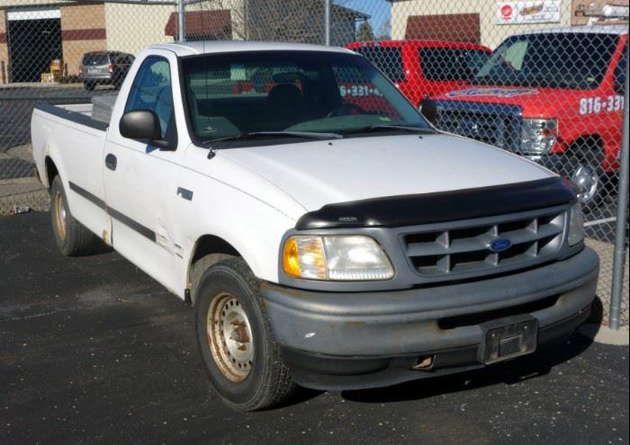 1998 Ford F-150 Pickup Truck, VIN # 1FTZF1721WKB21426