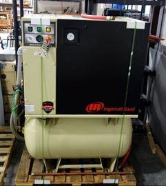 Ingersoll Rand Rotary Screw Compressor, Model # UP6-15C-125, Serial # CBU247878, 3-Phase