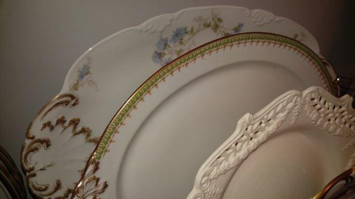Limoges platters