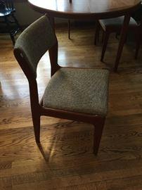 Danish Teak Chairs (1 of 6)