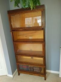 Barrister Book case, Vintage Oak