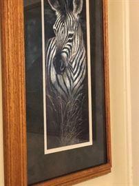 Zebra picture $35.00