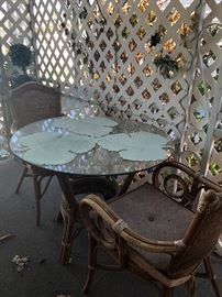 patio table ad 4 chairs 45.00