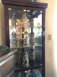 corner china cabinet 95.00