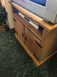wood tv stand 25.00
