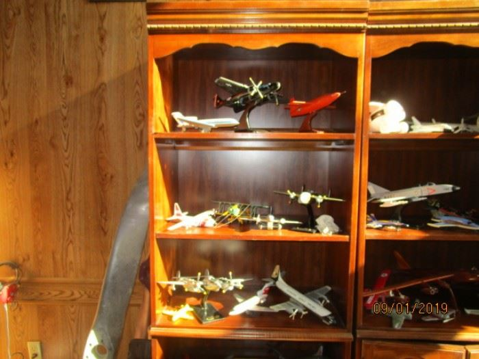 JUST A FEW OF THE MANY, MANY COLLECTIBLE AIRPLANES