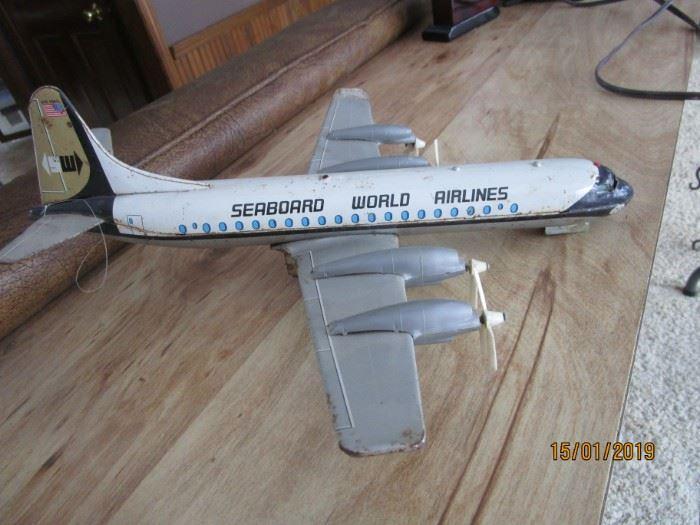 Vintage Seaboard World Airlines