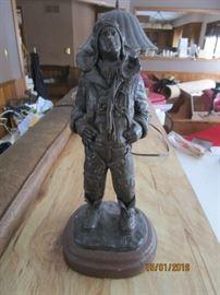 Signed Michael Gorman sculpture