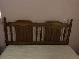 Full size bed Mattress & box springs with headboard
