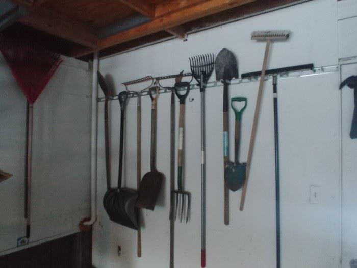 Still have assorted yard tools available