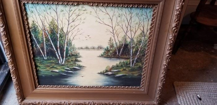 Painting in Ornate Framehttps://ctbids.com/#!/description/share/87858