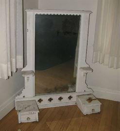 Primitive dresser top