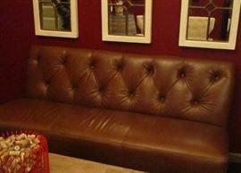 leather bench/sofa