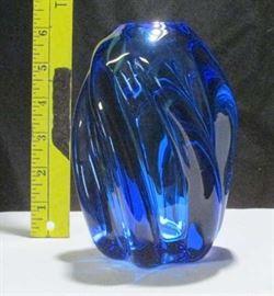 1979 Signed Labino Glass Art Vase Lot # 353