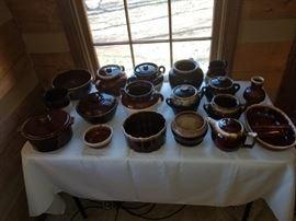 McCoy, Hull and Hall pottery