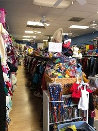 Kidz Closet liquidation sale!!  50/75% off of the entire store!  Open until it's all sold out!