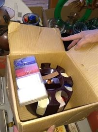Retro Poker Chips in original box