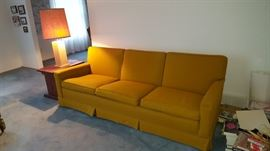 Retro Orange Sofa