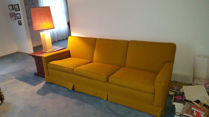 Retro Orange Sofa