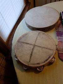 Tamborines/drums